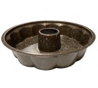 Форма за кекс RIV 2627-4, 28x6.5 см, Незалепващо покритие, Стомана, Кафяв