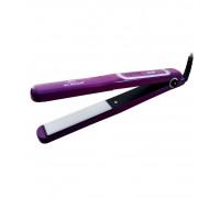 Преса за коса Elekom ЕК-1161, Дигитален терморегулатор, 300 W, лилава