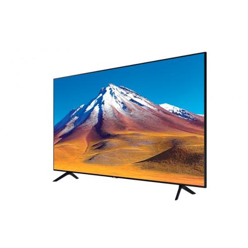 "Телевизор Samsung 43TU7092 43"", 4K UHD LED TV, SMART, Crystal Processor 4K, 2000 PQI, HDR 10+, Mega Contrast, Dolby Digital Plus, 2xHDMI, USB, WiFi, Bluetooth, Tizen, Черен"