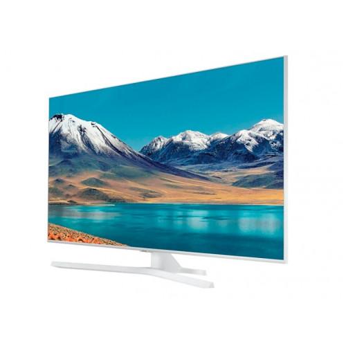 "Телевизор Samsung 50TU8512 50"", 4K Crystal UHD LED TV, SMART, Dual LED, Mega Contrast, HDR 10+, Crystal Processor 4K, Dolby Digital Plus, Bixby, WI-FI, 3xHDMI, 2xUSB, Bluetooth, Бял"