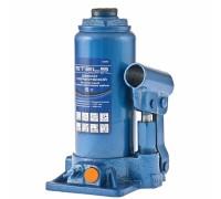 """Крик хидравличен, тип """"бутилка"""", 5 т, 197-382 мм// STELS 51097"""