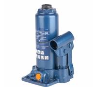 """Крик хидравличен, тип """"бутилка"""", 4 т, 194-372 мм, в пластмасов куфар// STELS 51123"""
