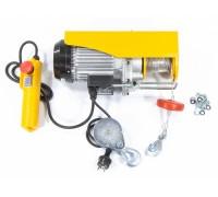 Телфер електрически TF-500, 0,5 т, 1020 Вт, височина на повдигане 12 м, 10 м/мин // DENZEL 52012