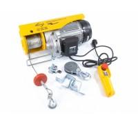 Телфер електрически TF-1000, 1 т, 1600 Вт, височина на повдигане 12 м, 8 м/мин // DENZEL 52016