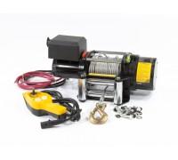 Лебедка автомобилна, електрическа LB- 2000, 2,2 т, 3,2 кВт, 12 В// DENZEL 52021