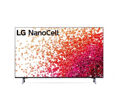 "Телевизор LG 55NANO753PA, 55"" 4K IPS HDR Smart Nano Cell TV, 3840x2160, 200Hz, ThinQ AI, WiFi, Clear Voice, Bluetooth, Miracast / AirPlay, Two Pole stand, Black"