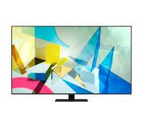 """Телевизор Samsung 55Q80T 55"""", QLED FLAT, SMART, 3800 PQI, Dual LED, Direct Full Array 8x, Quantum HDR, HDR 10+, Dolby Digital Plus, Dolby 5.1 Decoder, Bixby, Bluetooth, 4xHDMI, 2xUSB, Tizen, Сребрист"""