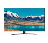 "Телевизор Samsung 55TU8502 55"", 4K Crystal UHD LED TV, SMART, Dual LED, 2800 PQI, Mega Contrast, HDR 10+, Crystal Processor 4K, Dolby Digital Plus, Bixby, AirPlay 2, DVB-T2CS2, WI-FI, 3xHDMI, 2xUSB, Bluetooth, Черен"