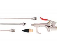 К-т пистолет пневматичен за продухване с 4 бр. приставки MTX 573389