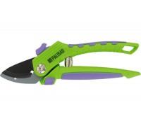 Ножица лозарска, 200 mm, с наковалня, незалепв. покритие, гумирани двукомп. пласт. дръжки PALISAD 60...