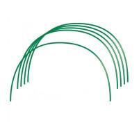 Дъга за парник, 0,75 х 0,90 m, диаметър 10 mm, PVC-покритие, 6 бр.// Русия 64407