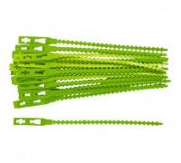 Връзки за растения, 13 cm, пластмасови, 50 бр.// PALISAD 644948