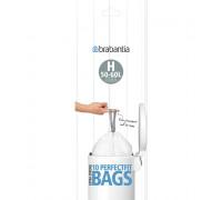 Торба за кош Brabantia PerfectFit Touch/Push/Big Bin размер H, 50-60L, 10 броя, ролка