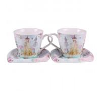 Комплект за чай и кафе 4 части, мода