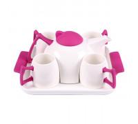 Комплект за чай 6 части, лилав