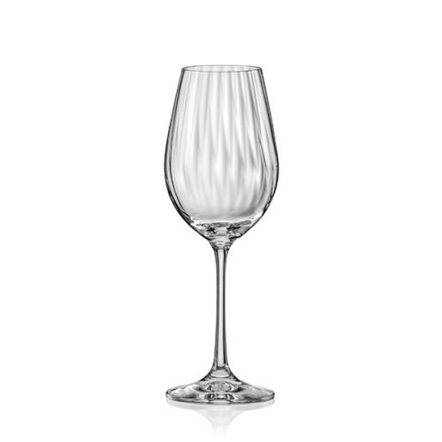 Чаша за вино Bohemia Royal Waterfall 350ml, 6 броя