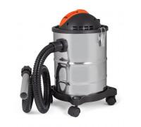 Прахосмукачка за едри отпадъци Muhler MC-1820SR 18L, 800W, Корпус от неръждаема стомана, Двоен филтъ...