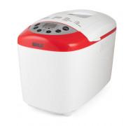 Хлебопекарна Muhler MBM-1502, 850W, Отложен старт до 15 часа, Две бъркалки, LCD дисплей, Бял-червен