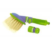 К-т за миене (четка за миене, съединител за маркуч), пластмасов PALISAD 651928