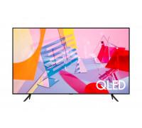 """Телевизор Samsung 75Q60T  75"""", QLED FLAT, SMART, 3100 PQI, Dual LED, Quantum HDR, HDR 10+, Bixby, Bluetooth, 3xHDMI, 2xUSB, Frameless, Tizen, Черен"""