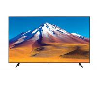 "Телевизор Samsung 75TU7092 75"", Crystal 4K SMART, 2000 PQI, HDR 10+, Bluetooth, AirPlay 2, 2xHDMI, USB, Tizen, Черен"