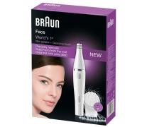 Епилатор и почистваща четка за лице Braun Face Spa 810
