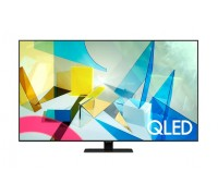 """Телевизор  Samsung 85Q80T, 85"""" QLED FLAT, SMART, 3800 PQI, Dual LED, Direct Full Array 8x, Quantum HDR, HDR 10+, Dolby Digital Plus, Frameless, Tizen, Carbon Silver"""