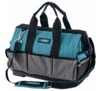 Чанта за инструменти Handwerker, 26 джоба, твърдо дъно, подплатен ремък, 400*225*310мм// GROSS 90272