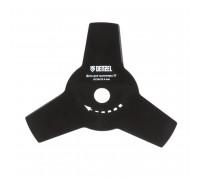 Режещ диск за тример, 255 х 25,4 х 1,6 мм, 3 ножа// DENZEL 96325