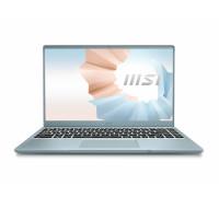 "Лаптоп MSI Modern 14 B11MO, i7-1165G7 (up to 4.70 GHz, 12MB), 14"" FHD 1920x1080, IPS, AG, Intel..."