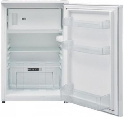 Хладилник Atlantic AT-130, Обем хладилник 105л, Обем камера 17л, Автоматично размразяване, Стъклени рафтове