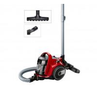 Прахосмукачка без торба Bosch BGC05AAA2, 700W, 1.5 л, Филтър PureAir, Четка за паркет, Easy Clean, Ч...