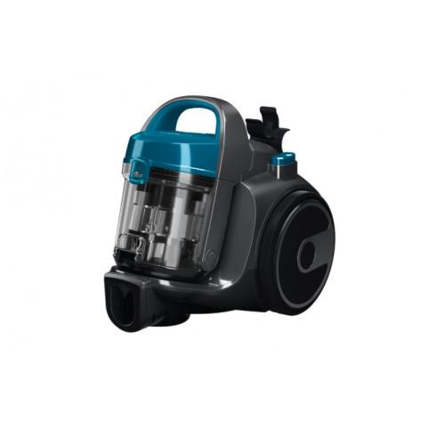 Прахосмукачка без торба Bosch BGS05A220, 700 W, 1.5 л, Хигиеничен филтър PureAir, Черна/Синя
