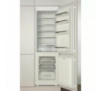 Хладилник с фризер за вграждане Hansa BK316.3, Енергиен клас - А+, обем на хладилната част - 190l, обем на фризера 70l, размери в/ш/д 178/54/54, год. разход 274kWh