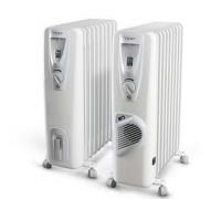 Маслен радиатор Tesy CB 2009 E01 R, Мощност - 2000 W, ребра - 9 и три степени на мощност