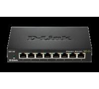 Комутатор D-Link 8-Port Gigabit Ethernet Metal Housing Unmanaged DGS-108/E