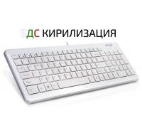 Клавиатура DELUX DLK-1500U USB бяла кирилизирана