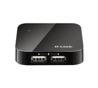USB Хъб D-Link DUB-H4/E 4-Port USB 2.0 Hub DUB-H4/E