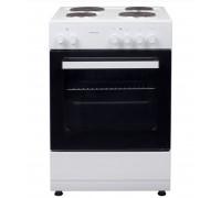 Готварска печка Snaige E-5401, 4 котлона, 5 функции на фурната, Вентилатор, Енергиен клас А