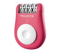 Епилатор ROWENTA Easy Touch EP1110F1, 2 скорости, 24 пинсети, Четка, Розов неон