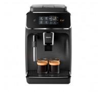 Кафеавтомат Philips EP2220/10, 15 bar, 1500 W, Система за разпенване на мляко, Керамични мелачки, Филтър AquaClean, Сензорен екран