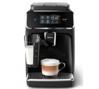 Кафеавтомат Philips EP2231/40, 15 bar, 1500 W, Автоматично капучино, Кана за мляко, Керамични мелачки, Филтър AquaClean, Сензорен екран