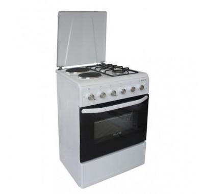 Готварска печка Elite Efc-60G60, 2 ел. котлона и 2 газови