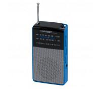 Преносимо радио First Austria FA-2314-1, AM/FM, Вход за слушалки, Тунер