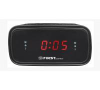 "Радио часовник FIRST FA-2406-6, 0.6"" дисплей, Кварцов стабилизатор"