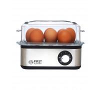 Яйцеварка FIRST FA-5115-3, До 8 яйца наведнъж, Светлинен индикатор, Функция таймер и звук