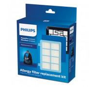 Комплект филтри за прахосмукачка PHILIPS FC8010/01, 3 броя, Против алергии, За мотор, Пенест