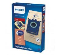 Торбички PHILIPS FC8019/01, 5 броя, За всички прахосмукачки с торбичка Philips и Electrolux