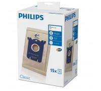 Торбички за прахосмукачка PHILIPS FC8019/03, 15 броя, s-bag®
