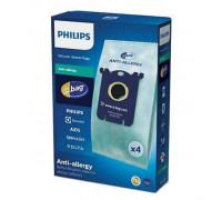 Торбички за прахосмукачка PHILIPS FC8022/04, 4 броя, Против алергии